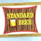 STANDARD Beer Label120z.