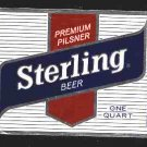 STERLING BEER Label 32oz