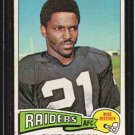 1975 Topps F.B. CLIFF BRANCH Rookie Card #524 EX