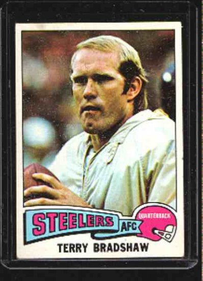 1975 Topps F.B. TERRY BRADSHAW CD#461 EX