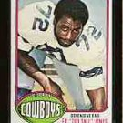 "1976 Topps F.B. ED ""Too Tall"" JONES  CD#427"