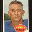1960 Topps F.B CHARLEY CONERLY CD#72 VG-EX