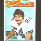 1977 Topps F.B. RANDY WHITE Rookie Card #342 EX-MT