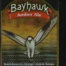 BAYHAWK Amber Ale Label / 12oz.