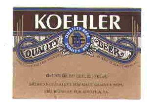 KOEHLER Beer Label / 16oz