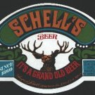 SCHELL'S Strong Beer Label /12oz
