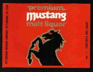 MUSTANG Malt Liquor /32oz.