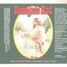 RENEGADE RED India Pale Ale Label / 22oz
