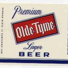 OLDE TYME Lager Beer Label /11oz.