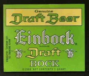 EINBOCK Draft Bock  / 32oz