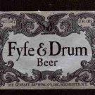 FYFE & DRUM Beer Label / 12oz.
