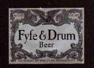 FYFE & DRUM Beer Label / 12oz.