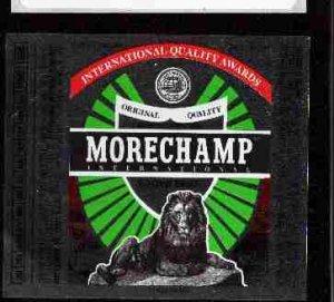 MORECHAMP Lager Beer Label / 12oz.