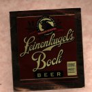 LEINENLIUGEL'S Bock Beer Label / 1 Pint 6oz.