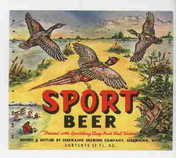 SPORT Beer Label / 12oz