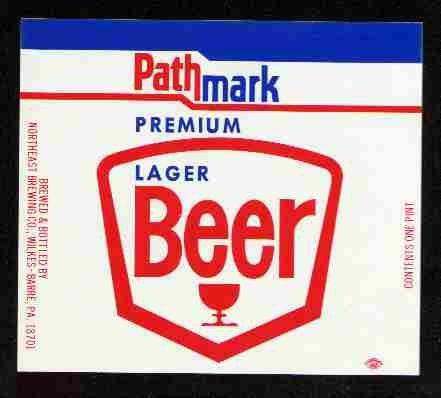 PATHMARK Premium Lager Beer Label / 16oz