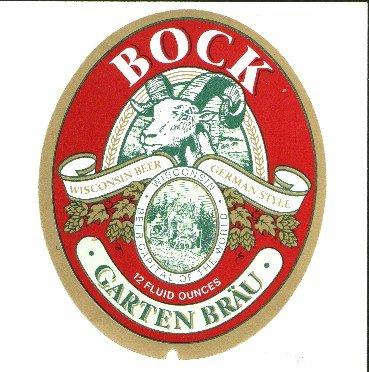 GARTEN BRAU Bock /12oz