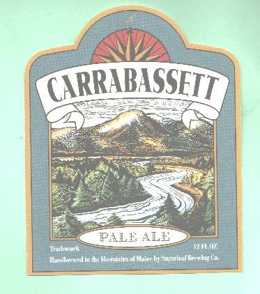 CARRABASSETT Pale Ale Label / 12oz