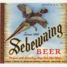 SEBEWAING Beer Label / 12oz