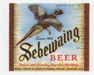 SEBEWAING Beer Label / 12oz