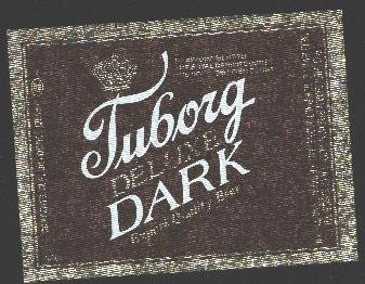TURBORG Deluxe Dark Beer Label / 12oz.