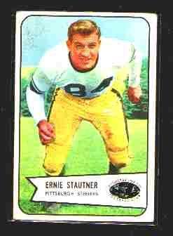 1954 Bowman F.B. ERNIE STAUTNER  CD#118