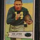 1954 Bowman F.B. JOHN LATTNER CD# 128