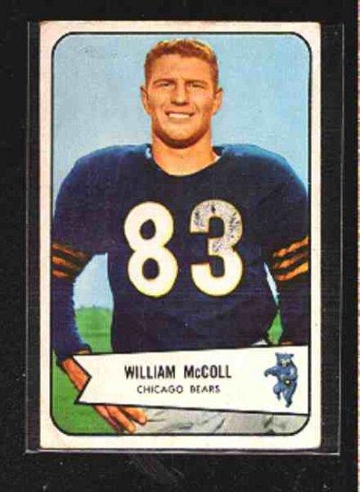 1954 Bowman F.B. William McColl CD# 59