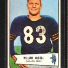 1954 Bowman F.B. William McColl CD# 59