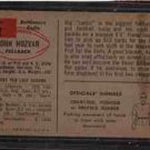 1954 Bowman F.B. JOHN HUZAR cd#2 EX Con.
