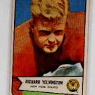 1954 Bowman F.B. RICHARD YELVINGTON cd#77