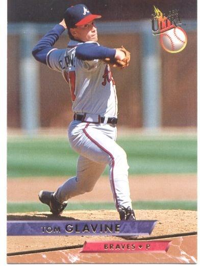Tom Glavine Fleer Ultra #6 Braves