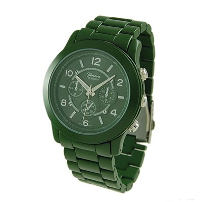 AWESOME:Green Ceramic-Style Fashion Watch 9201