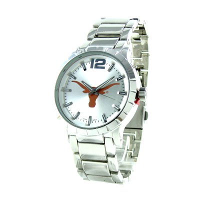 Licensed University of Texas Collegiate Watch - Silver