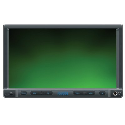 Phase Linear UV8020 MP3/WMA/USB/SD Card/DVD Receiver 4-Inch Screen (Black)