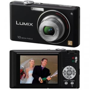 Panasonic Lumix DMC-FX37 Digital Camera - Black