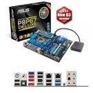 Asus P8P67 DELUXE Desktop Motherboard - Intel -Socket H2 LGA-1155