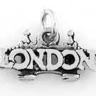 STERLING SILVER LONDON BRIDGE IN CITY OF LONDON CHARM