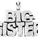 STERLING SILVER BIG SISTER CHARM/PENDANT