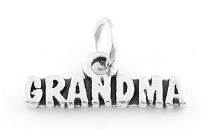 STERLING SILVER GRANDMA CHARM/PENDANT