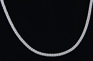 """STERLING SILVER ITALY WHEAT ROPE CHAIN NECKLACE 20"""" 3 mm"""