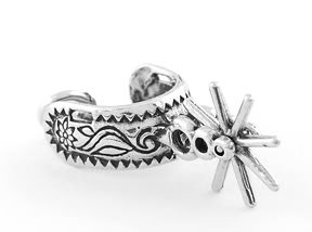 STERLING SILVER SPUR CHARM/PENDANT