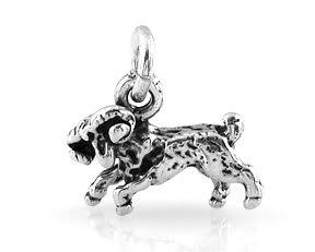 STERLING SILVER SMALL RAM CHARM