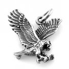 STERLING SILVER 3D EAGLE CHARM/PENDANT