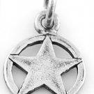 STERLING SILVER TEXAS LONE STAR CHARM/PENDANT