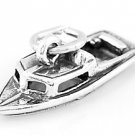STERLING SILVER BOAT 3D CHARM/PENDANT