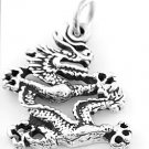 STERLING SILVER MYSTICAL DRAGON CHARM/PENDANT