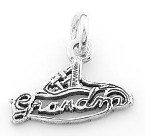 STERLING SILVER #1 GRANDMA CHARM/PENDANT