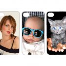 Personalized iPhone 4 4S 5 - Custom Monogrammed / Picture Hard Case White Cover