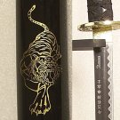 Classic Tiger And Dragon Black Katana Samurai Sword